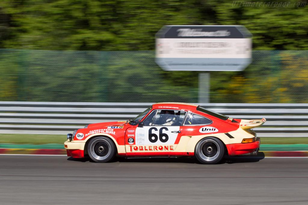 Porsche 911 Carrera RSR 3.0 - Chassis: 911 460 9058 - Driver: Didier Denat  - 2014 Spa Classic