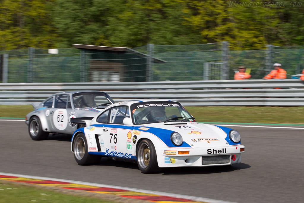 Porsche 911 Carrera RSR 3.0  - Driver: Hans-Joerg Huebner / Wolfgang Kaufman  - 2014 Spa Classic