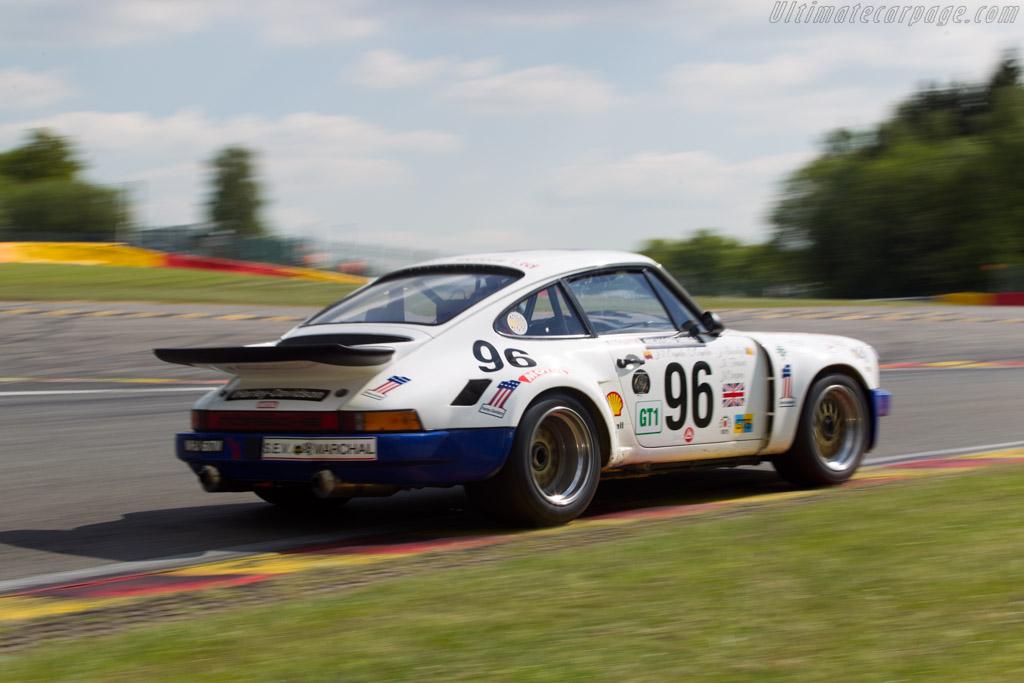 Porsche 911 Carrera RSR 3.0 - Chassis: 911 460 9072 - Driver: Juan Orjuela / Santiago Orjuela  - 2014 Spa Classic
