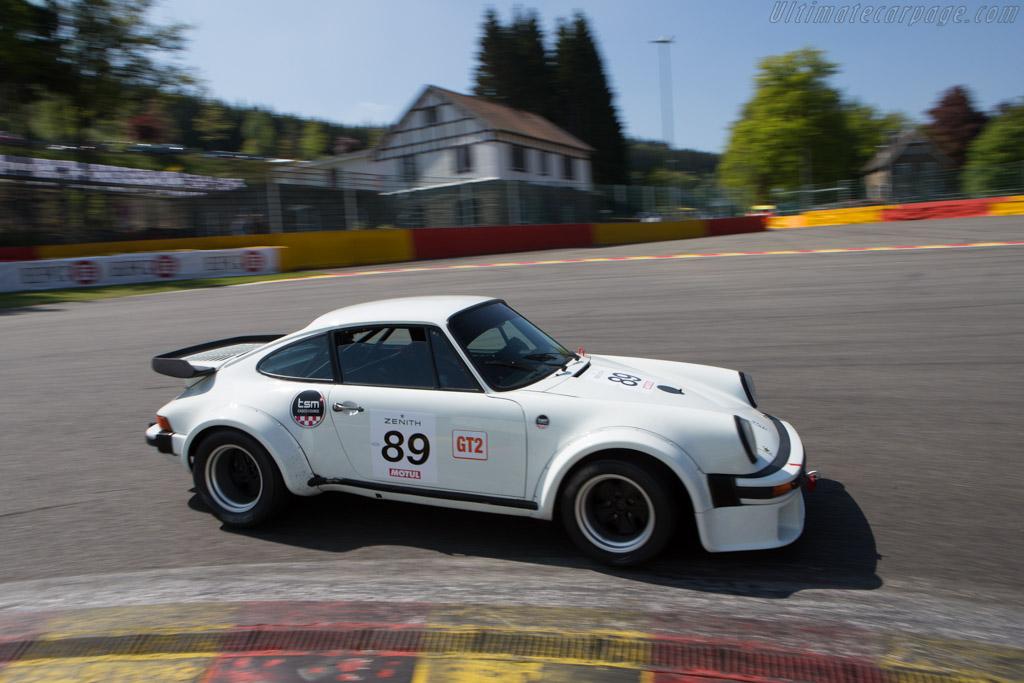 Porsche 930 Turbo  - Driver: Fabio Spirgi / Lourent Timonier  - 2014 Spa Classic