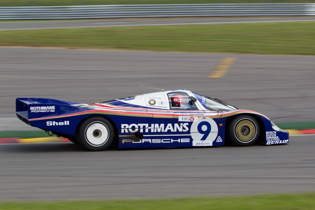 Porsche 956 - Chassis: 956-004 - Driver: Kriton Lendounis  - 2014 Spa Classic