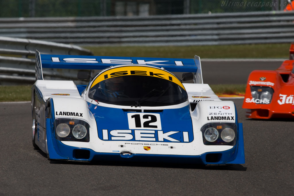Porsche 956 - Chassis: 956-118 - Driver: Russel Kepnich  - 2014 Spa Classic
