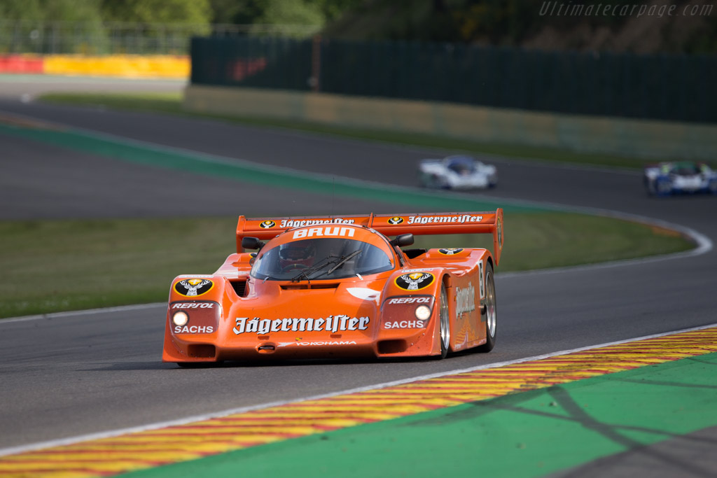 Porsche 962 - Chassis: 962-006BM - Driver: Peter Harburg  - 2014 Spa Classic