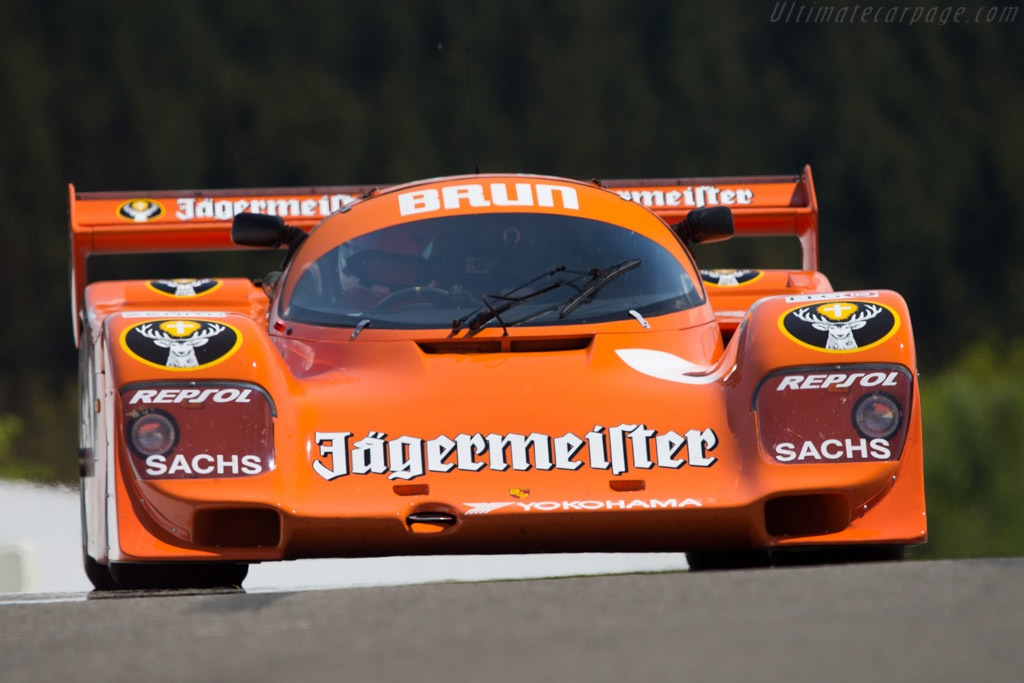Porsche 962 - Chassis: 962-006BM - Driver: Peter Harburg  - 2014 Spa Classic