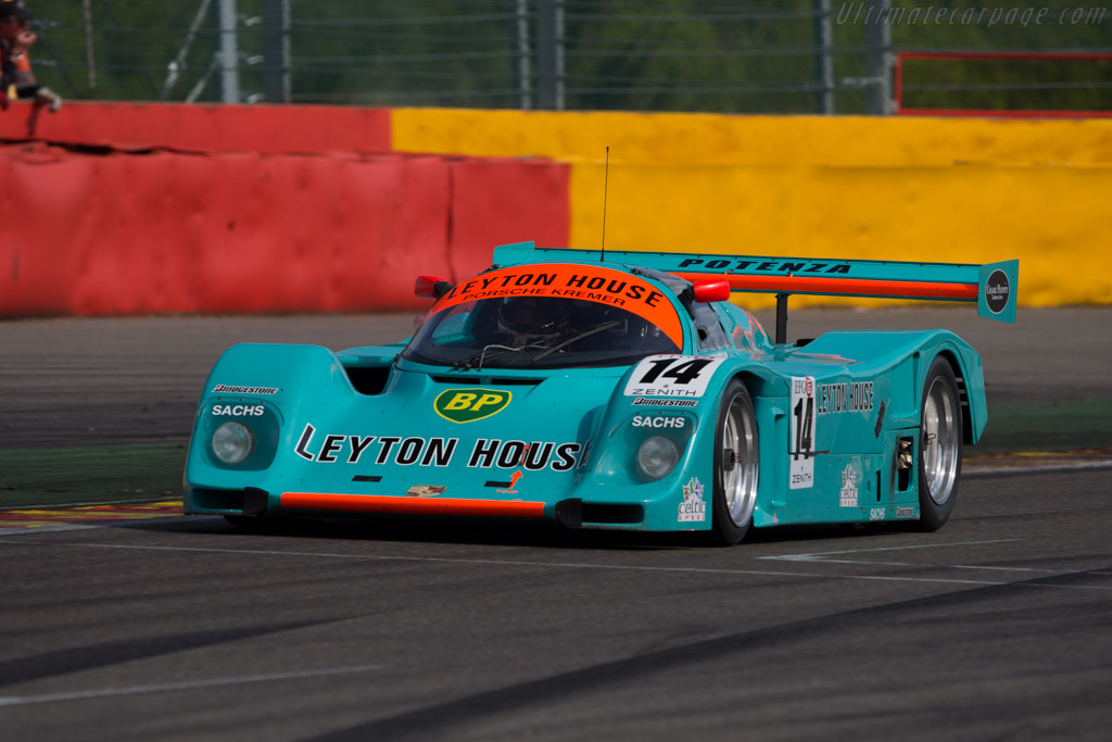Porsche 962 CK6 - Chassis: 962-118 T-1 - Driver: Tommy Dreelan  - 2014 Spa Classic