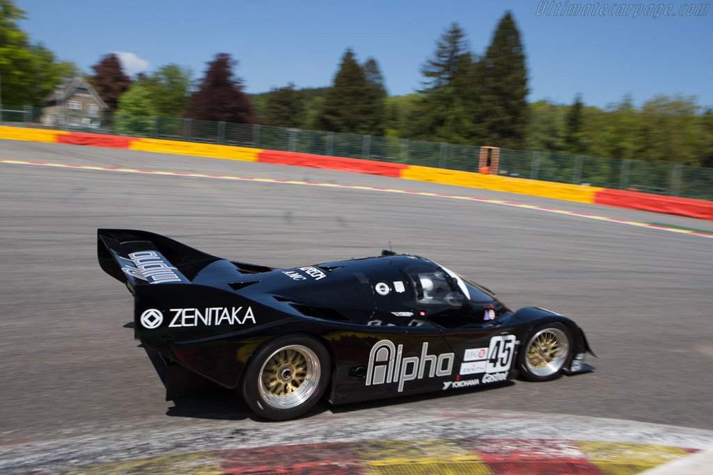 Porsche 962C - Chassis: 962-154 - Driver: Pierre-Alain France / Erwin France  - 2014 Spa Classic