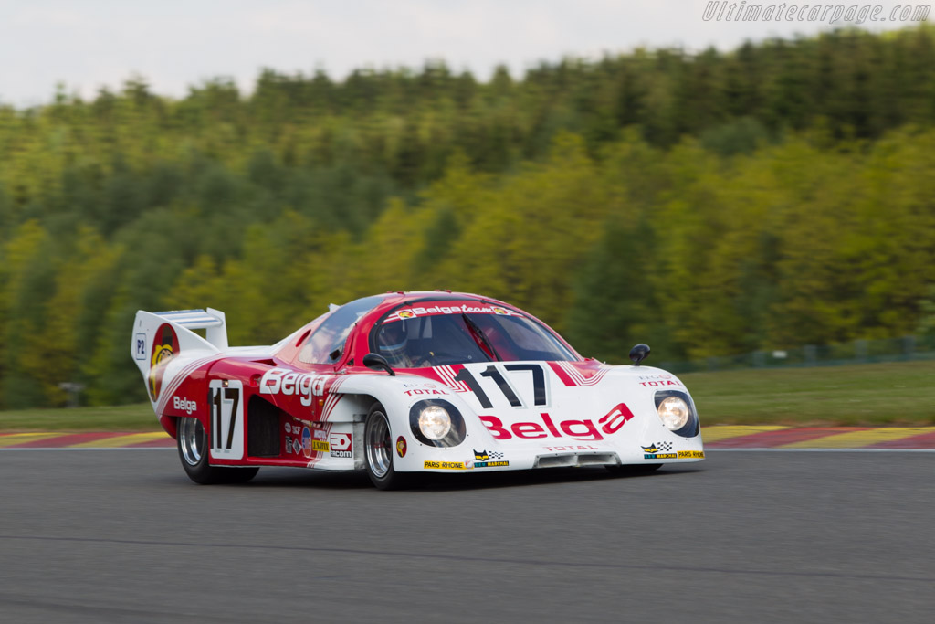 Rondeau M378 Cosworth - Chassis: M378/001 - Driver: Marc Devis  - 2014 Spa Classic