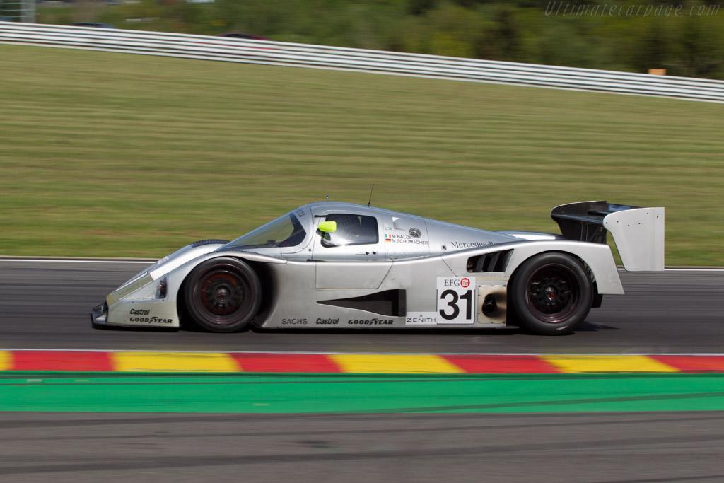 Sauber Mercedes C11 - Chassis: 89.C11.00 - Driver: Bob Berridge  - 2014 Spa Classic