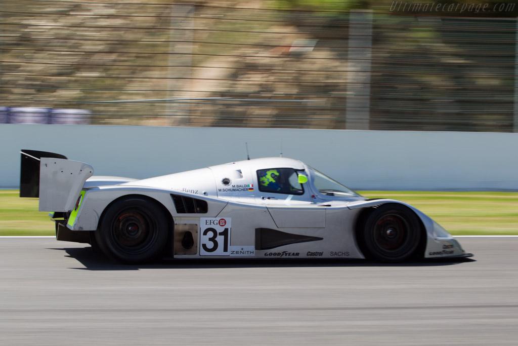Sauber Mercedes C11 - Chassis: 89.C11.00 - Driver: Gareth Evans  - 2014 Spa Classic
