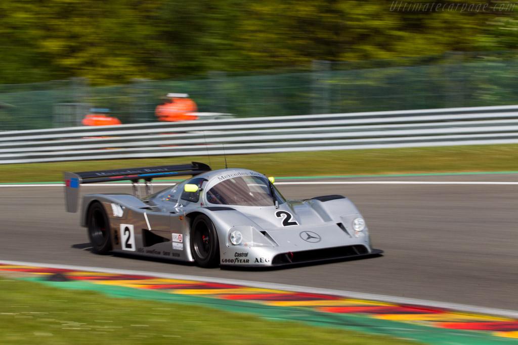 Sauber Mercedes C11 - Chassis: 90.C11.01 - Driver: Shaun Lynn  - 2014 Spa Classic