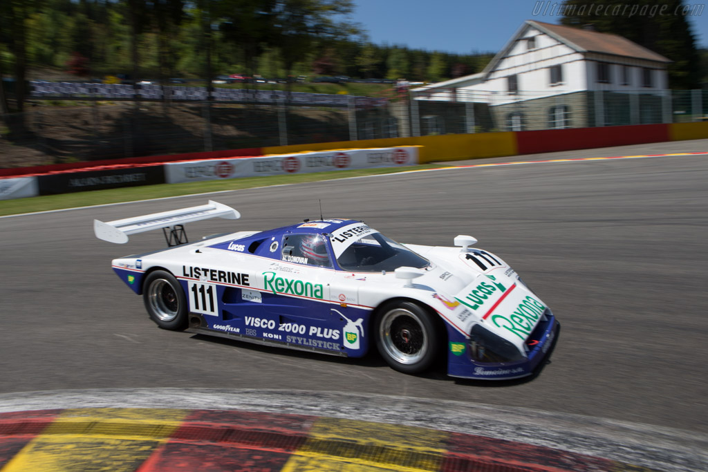 Spice SE88C - Chassis: SE88C-003 - Driver: Mike Donovan  - 2014 Spa Classic
