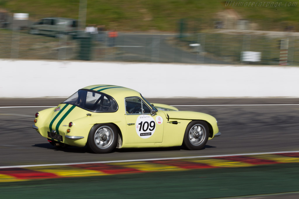 TVR Grantura Mk2 - Chassis: 7F341 - Driver: Laurent Guignot  - 2014 Spa Classic