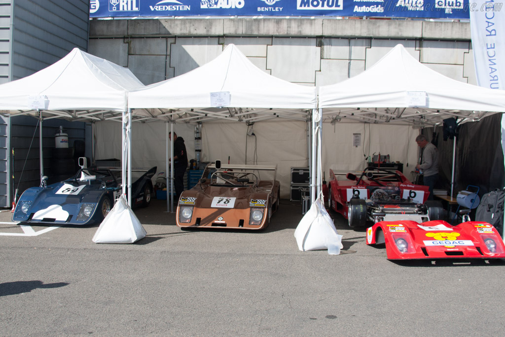 Three Cheetah sports racers    - 2014 Spa Classic