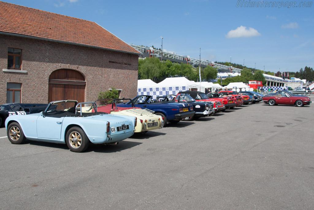 Triumph club    - 2014 Spa Classic