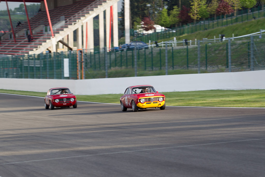 Alfa Romeo Giulia GTA  - Driver: Christian Bouriez  - 2015 Spa Classic