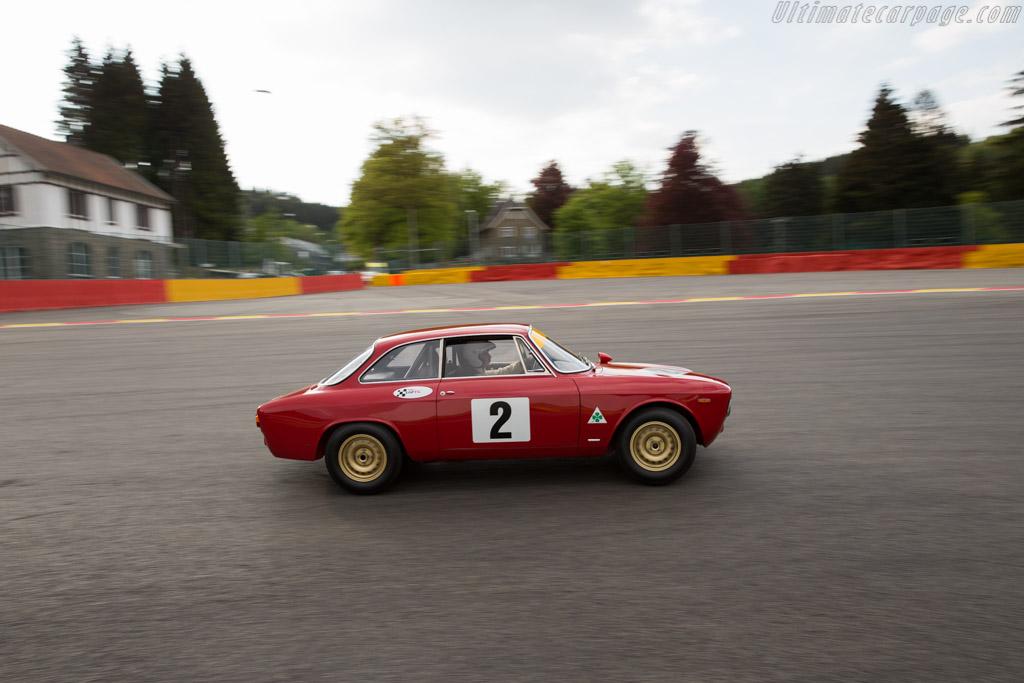 Alfa Romeo Giulia GTA - Chassis: AR613701 - Driver: Charles Vogele / Yves Vogele  - 2015 Spa Classic