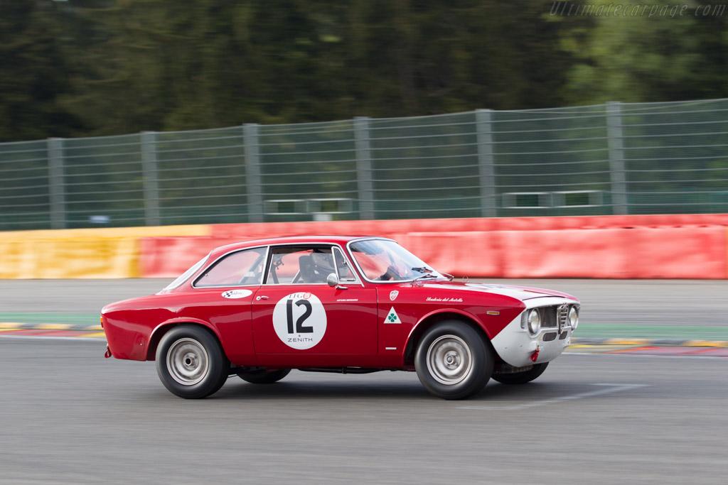 Alfa Romeo Giulia GTA - Chassis: AR613018 - Driver: Daniel Reinhardt / Dominique Reinhardt  - 2015 Spa Classic