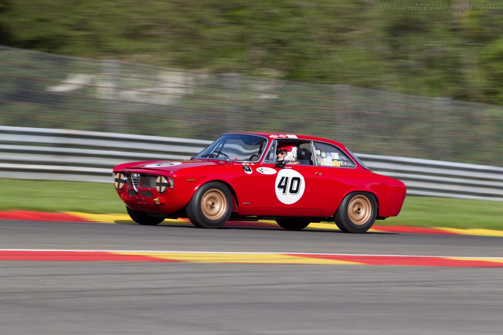Alfa Romeo Giulia GTA  - Driver: Michael Erlich  - 2015 Spa Classic