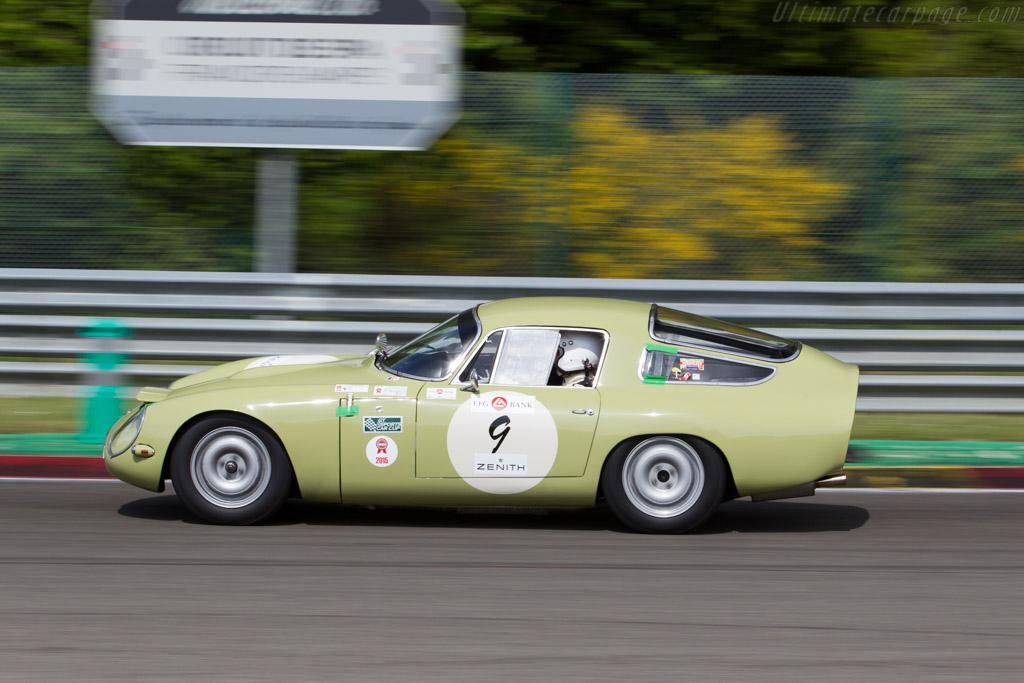 Alfa Romeo TZ - Chassis: AR750017 - Driver: Yves Vogele / Alain Vogele  - 2015 Spa Classic