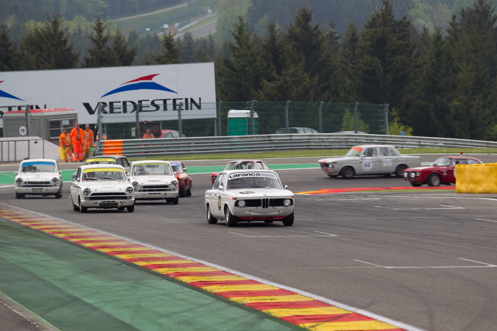 BMW 1800 TISA - Chassis: 995193 - Driver: Richard Shaw / Jackie Oliver  - 2015 Spa Classic