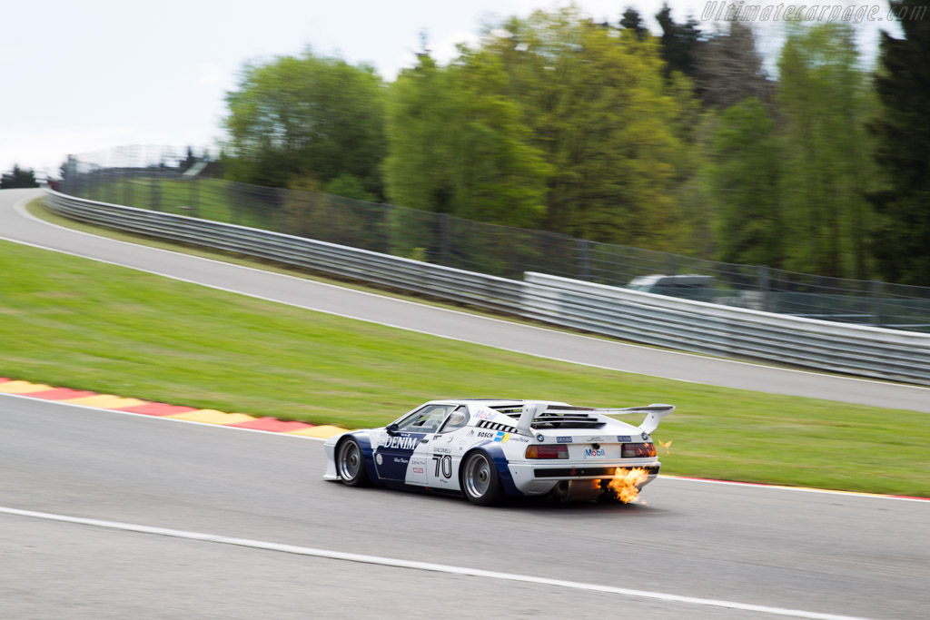 BMW M1 Group 4 - Chassis: 4301040 - Driver: Robert Boos / Pascal Goury  - 2015 Spa Classic