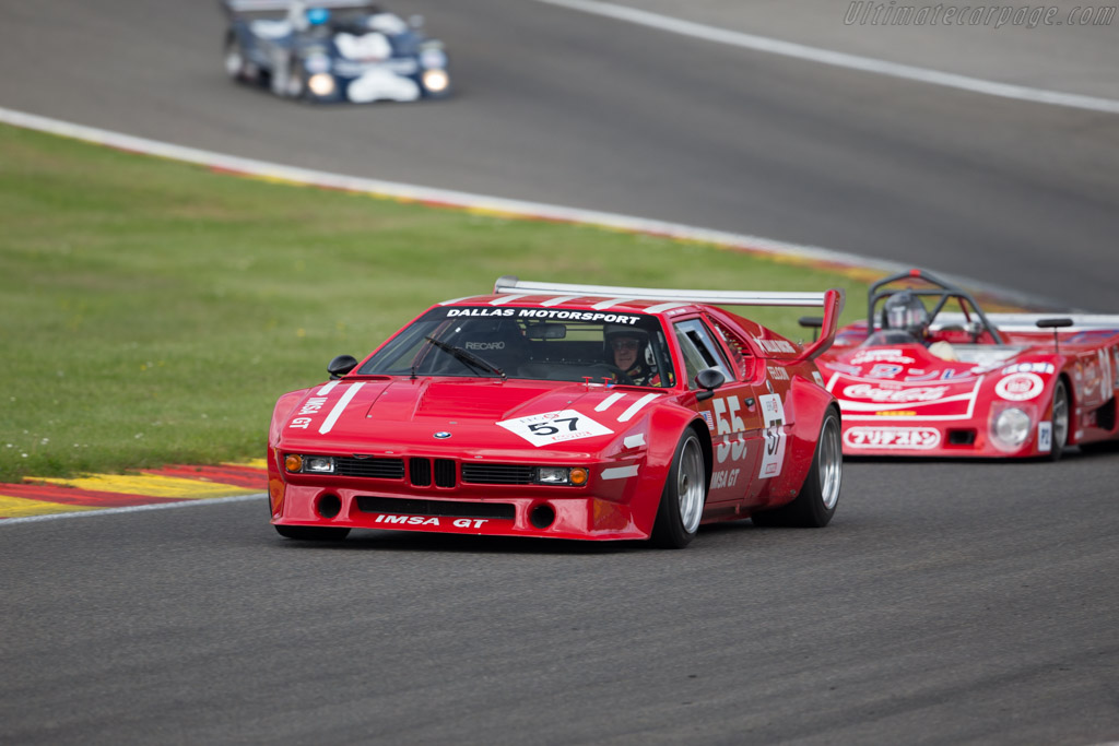BMW M1 Group 4 - Chassis: 4301302 - Driver: Amaury Latham / Christian Baud  - 2015 Spa Classic