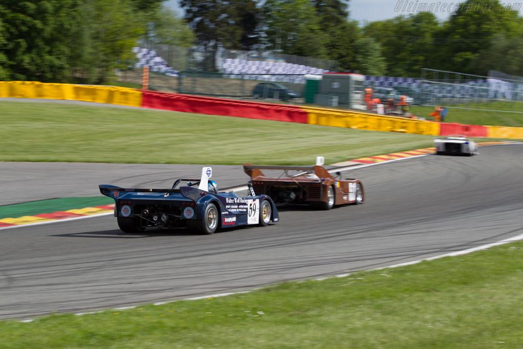 Cheetah G601 - Chassis: G601-2 - Driver: Beat Eggimann  - 2015 Spa Classic