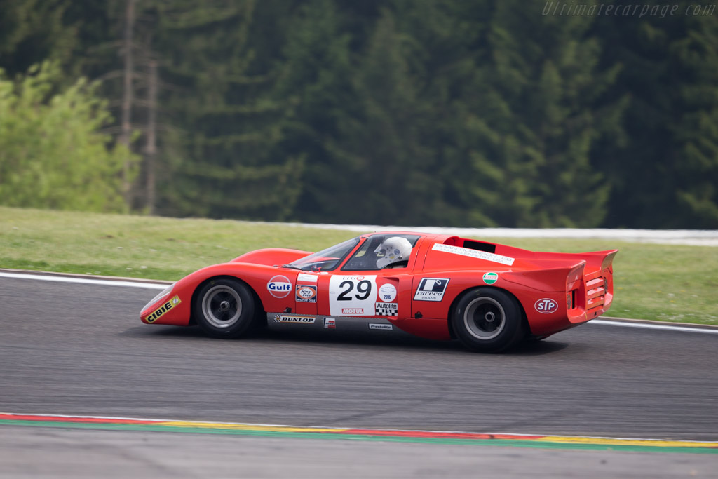 Chevron B16 - Chassis: CH-DBE-4 - Driver: Xavier Galant / Vincent Neurisse  - 2015 Spa Classic