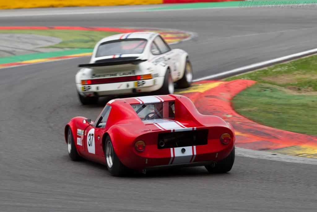 Chevron B8  - Driver: Alfred Strebel  - 2015 Spa Classic