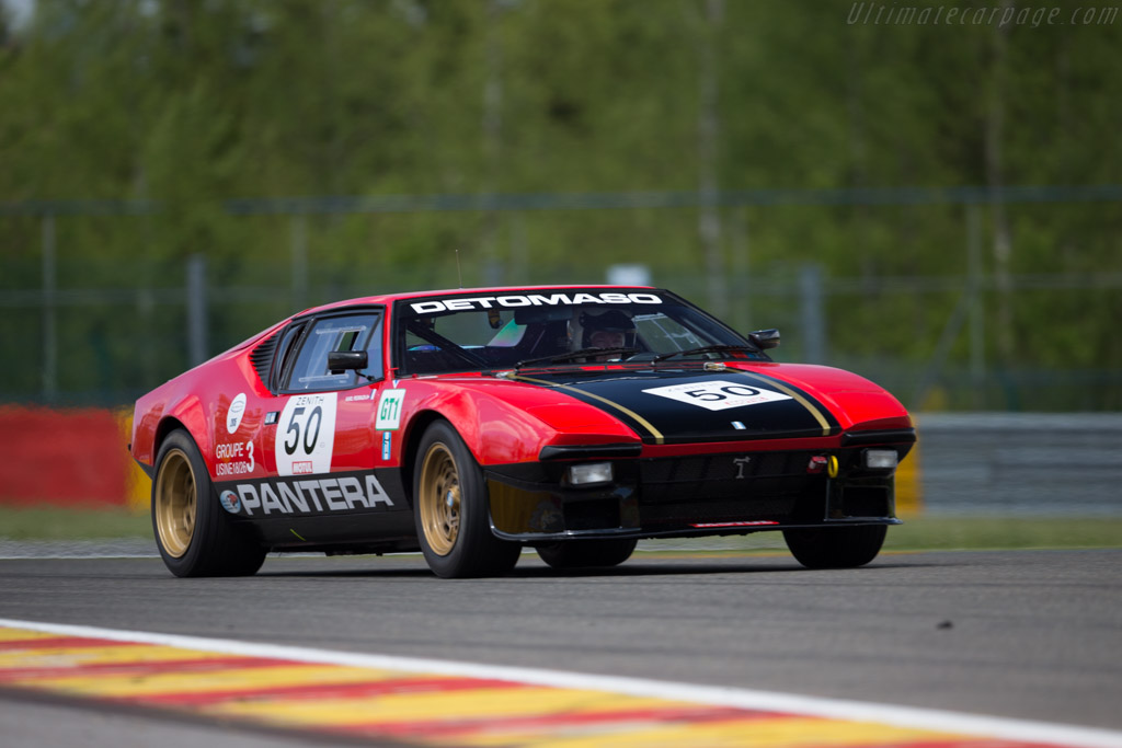 DeTomaso Pantera Group 3  - Driver: Karl Pedrazi / Lionel Robert  - 2015 Spa Classic