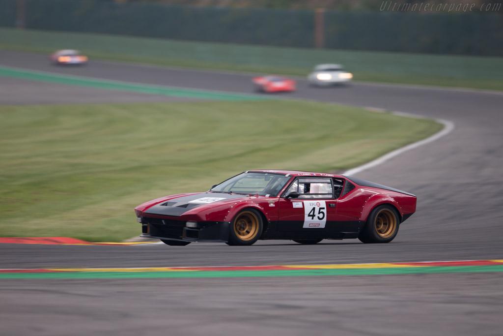 DeTomaso Pantera Group 4  - Driver: Jose Lamic / Jean-Philippe Lamic - 2015 Spa Classic