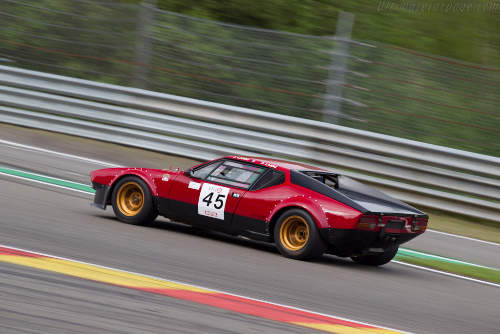 DeTomaso Pantera Group 4  - Driver: Jose Lamic / Jean-Philippe Lamic  - 2015 Spa Classic