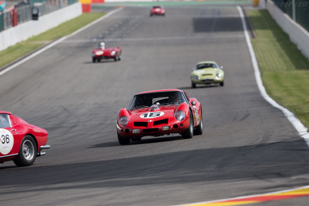 Ferrari 250 GT Breadvan - Chassis: 2819GT - Driver: Martin Halusa / Lukas Halusa  - 2015 Spa Classic