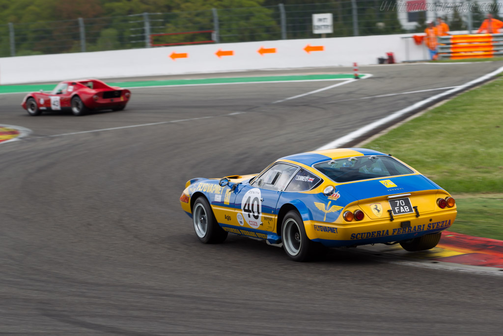 Ferrari 365 GTB/4 Group 4 - Chassis: 13219 - Driver: Tim Summers  - 2015 Spa Classic
