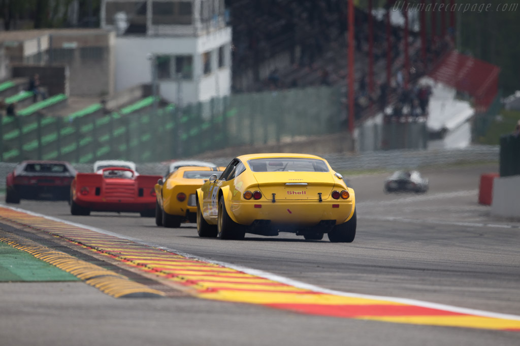 Ferrari 365 GTB/4 Group 4 - Chassis: 16935 - Driver: Christian Chavy  - 2015 Spa Classic