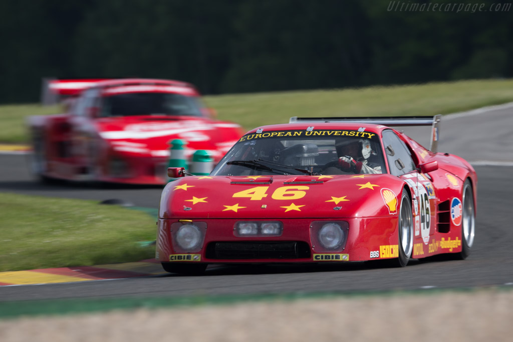 Ferrari 512 BB LM - Chassis: 35525 - Driver: Christian Bouriez  - 2015 Spa Classic