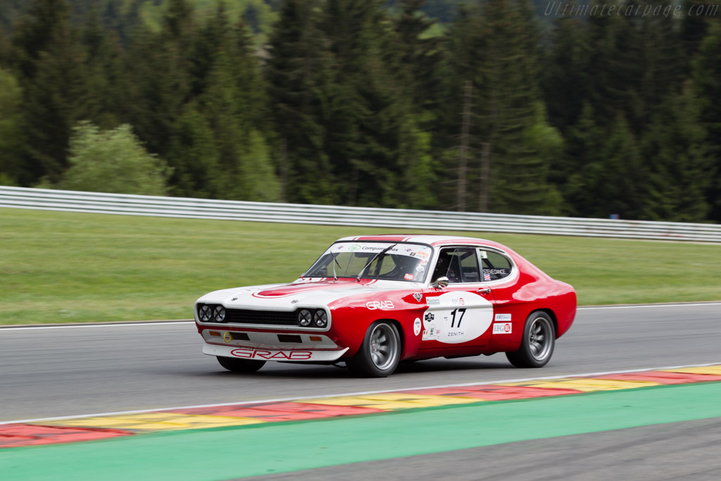 Ford Capri RS 2600  - Driver: Steve Dance  - 2015 Spa Classic