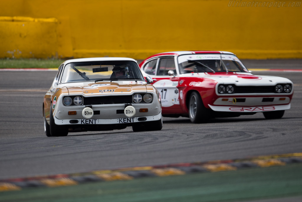 Ford Capri RS 2600 - Chassis: GAECLP19997 - Driver: Douglas Titford / Trevor Reeves  - 2015 Spa Classic