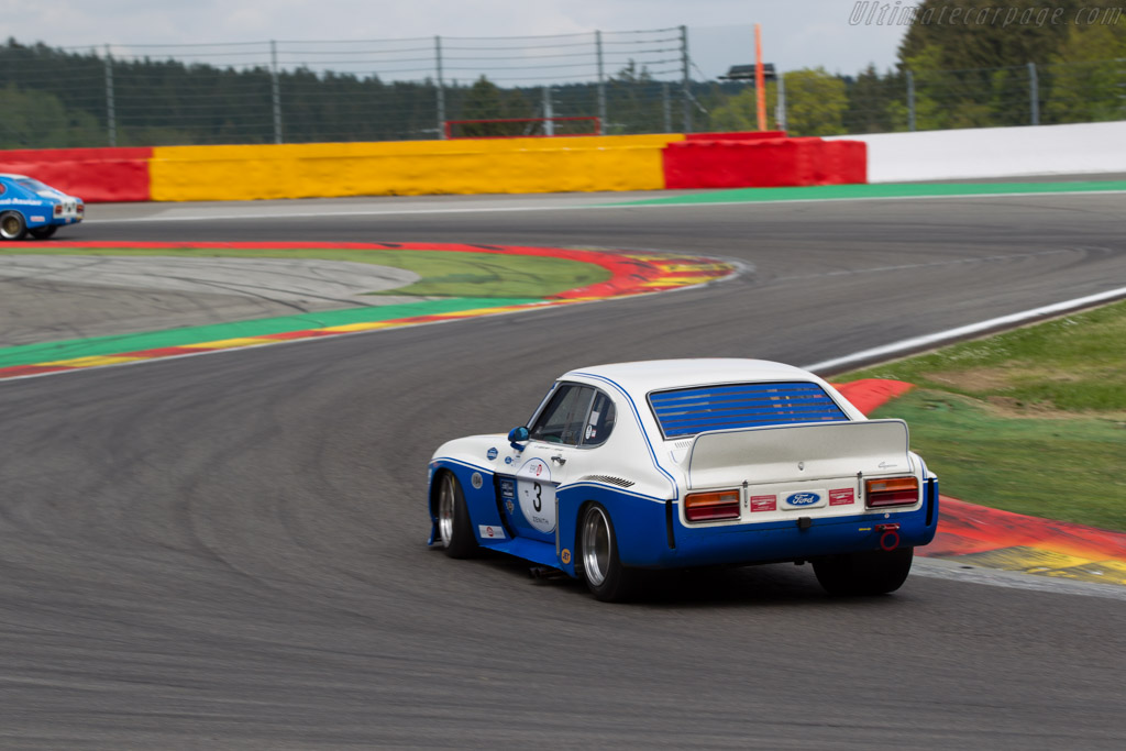 Ford Capri RS 3100 - Chassis: BFC 002 - Driver: Chris Ward / John Young  - 2015 Spa Classic