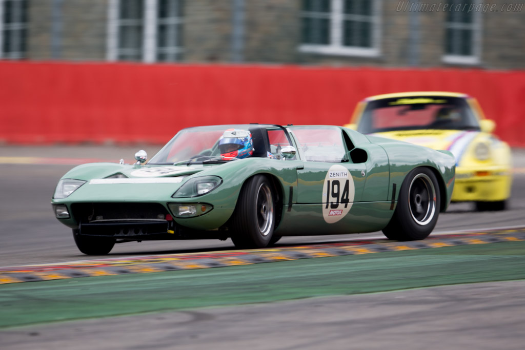 Ford GT Roadster - Chassis: GT/111 - Driver: Rui Silva / Joaquim Jorge  - 2015 Spa Classic