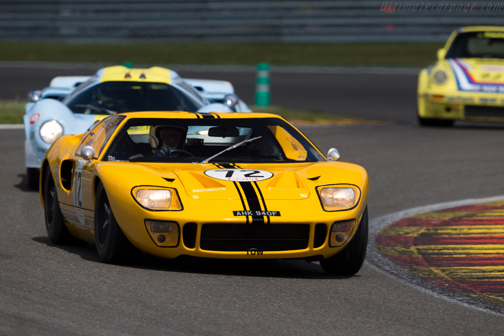 Ford GT40 - Chassis: GT40P/1069 - Driver: Conrad Ulrich  - 2015 Spa Classic