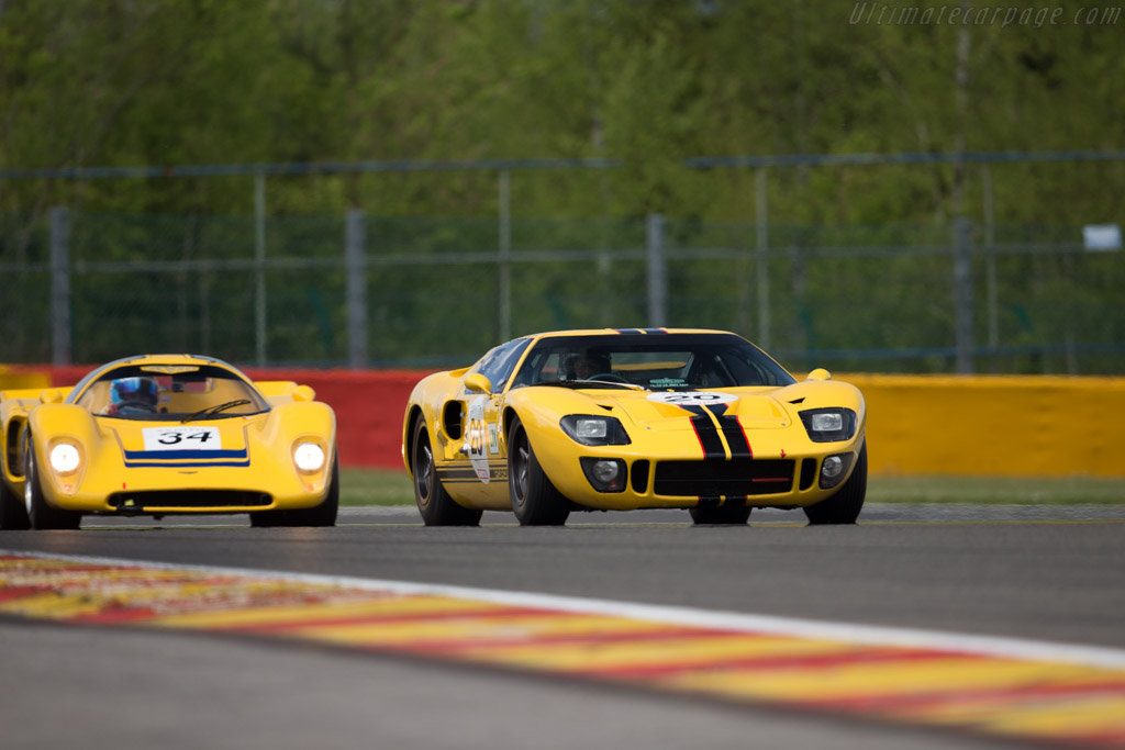 Ford GT40 - Chassis: GT40P/1027 - Driver: Christian Dumolin / Christophe van Riet  - 2015 Spa Classic