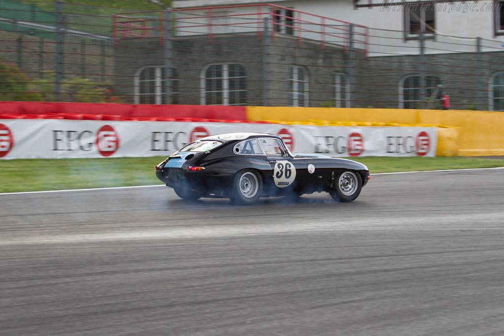 Jaguar E-Type - Chassis: 888169 - Driver: Siamak Siassi / Wolfgang Kaufmann  - 2015 Spa Classic
