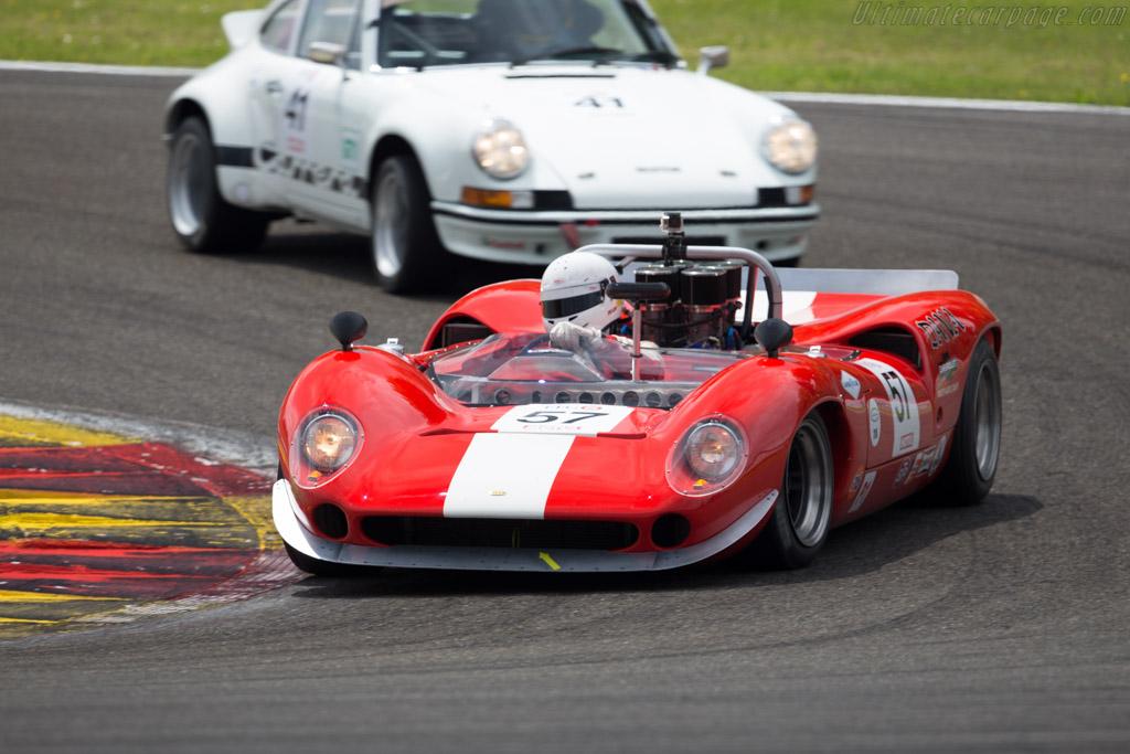Lola T70 Mk3 Spider - Chassis: SL73/114 - Driver: Christophe Gadais  - 2015 Spa Classic