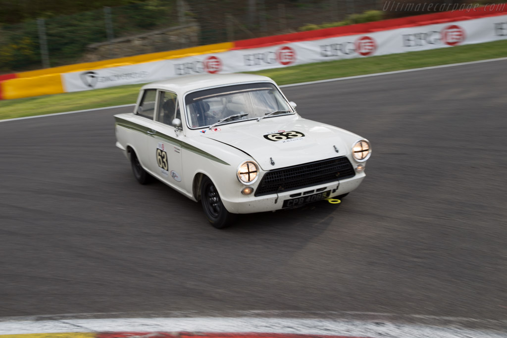 Lotus Cortina  - Entrant: Grant Tromans - Driver: Richard Meaden  - 2015 Spa Classic