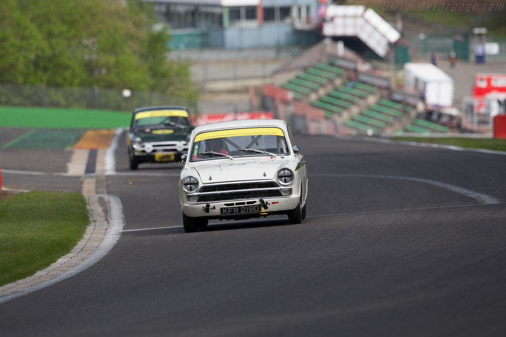 Lotus Cortina  - Driver: David Tomlin / Richard Meaden  - 2015 Spa Classic