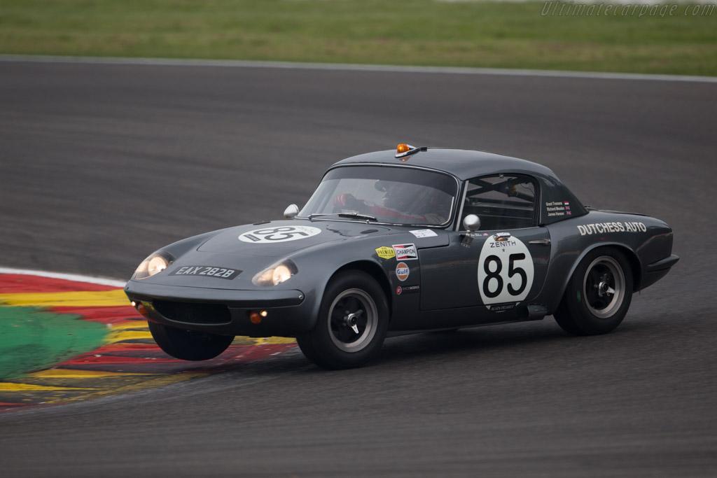 Lotus Elan 26R - Chassis: 26-R-9 - Entrant: Grant Tromans - Driver: Richard Meaden  - 2015 Spa Classic