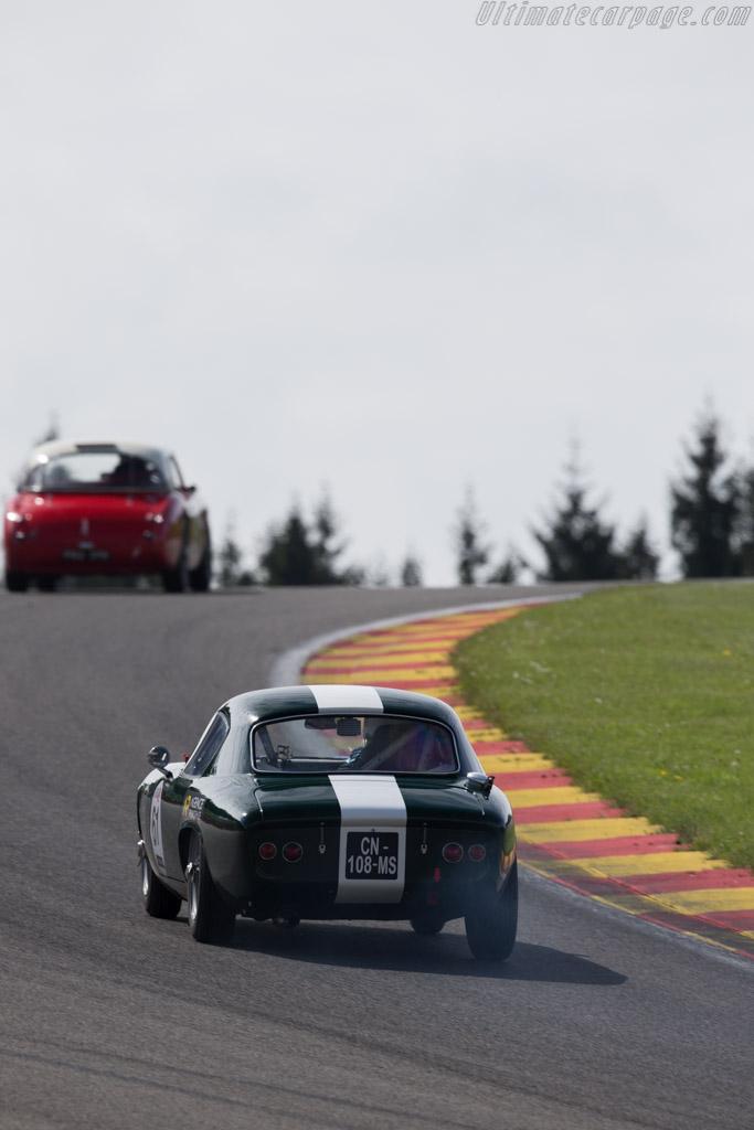 Lotus Elite  - Driver: Giles Couraudon / Maxime Gransart  - 2015 Spa Classic