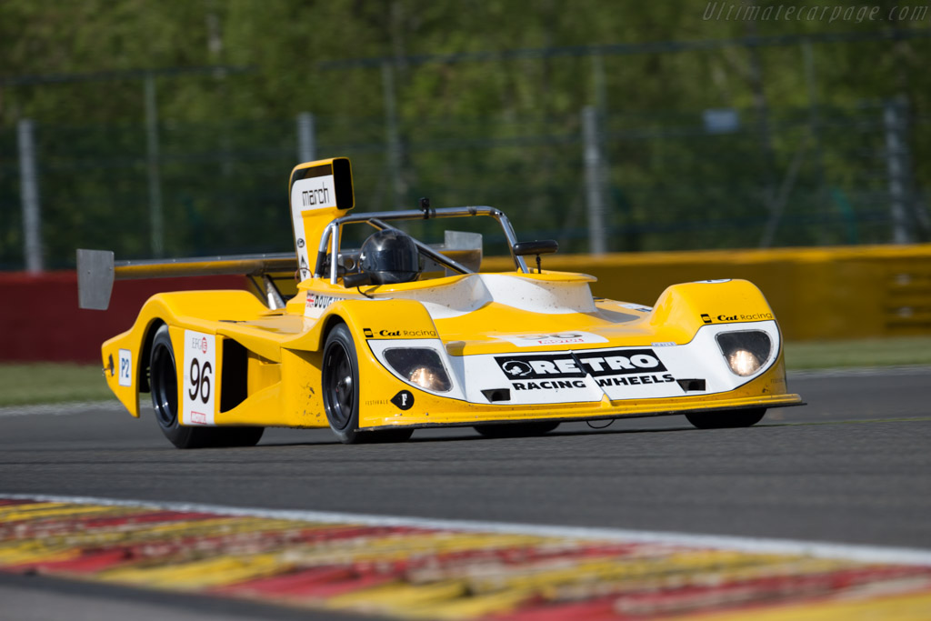 March 75S - Chassis: 75S/5 - Driver: Doug Hart  - 2015 Spa Classic