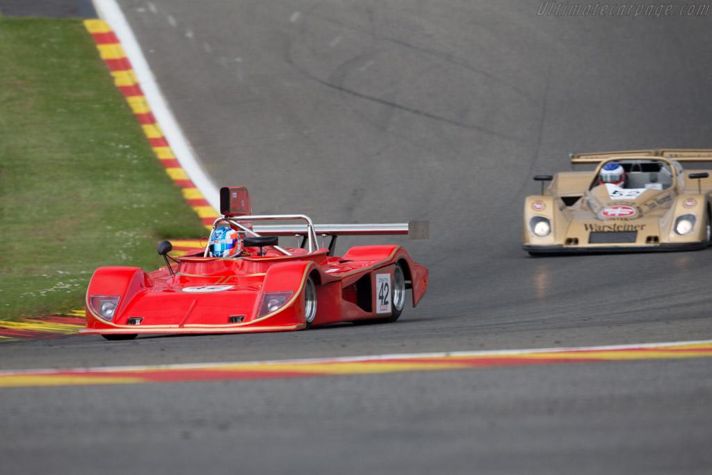 March 75S - Chassis: 75S/U1 - Driver: Leone Valerio  - 2015 Spa Classic